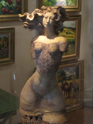 This bronze by Christine Remy took Sandi's fancy