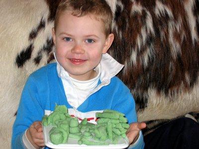 Ena's grandson Jamie