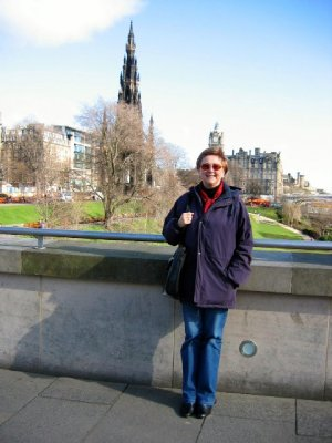 Sandi in Edinburgh