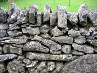 Typical Irish stone wall