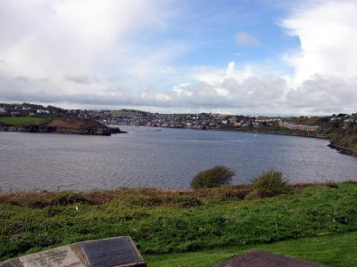 View of Kinsale from Charles Fort