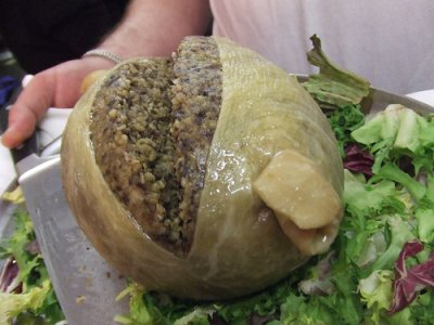 The much-maligned HAGGIS!