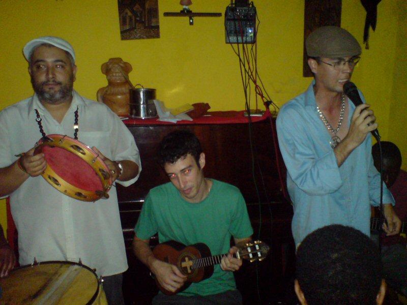 Live samba at PaUBrasil