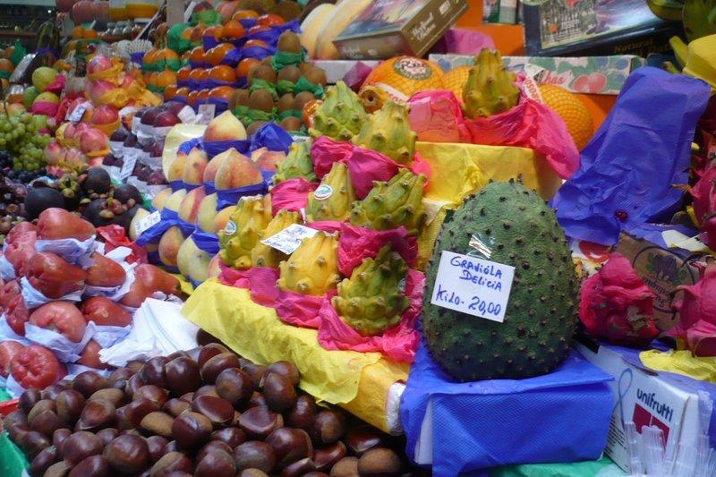 Fruits at central market