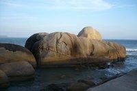 Rocks at Praia Mole