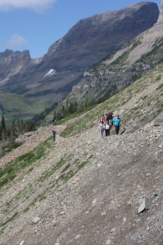 Highline Trail @ Glacier National Park
