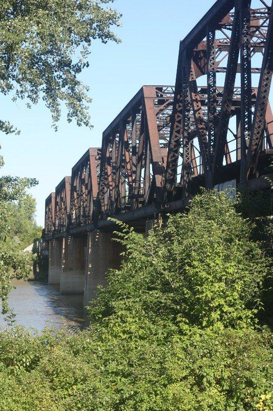 Red River Railbridge