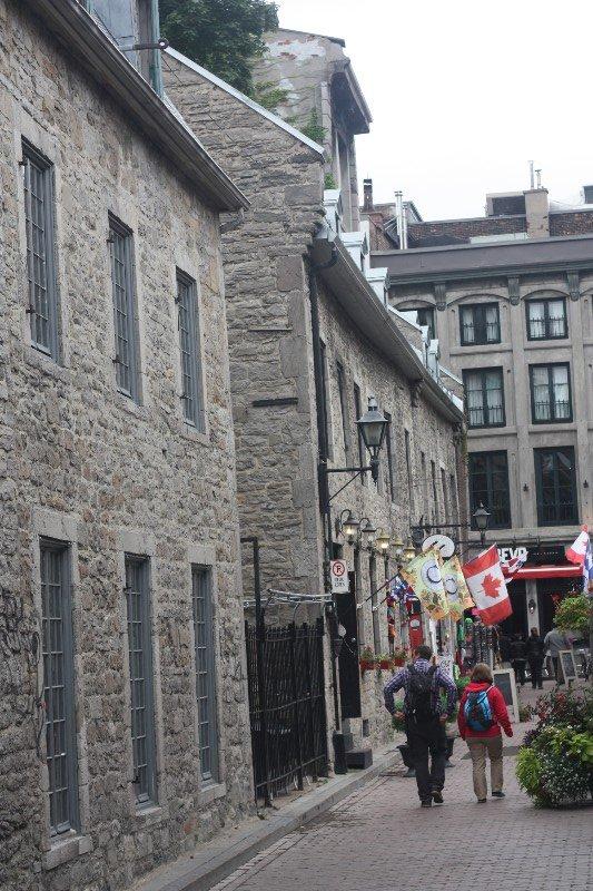 Side Street off Rue Notre-Dame, Montréal