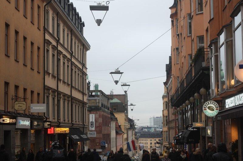 Södermalm Pedestrian street