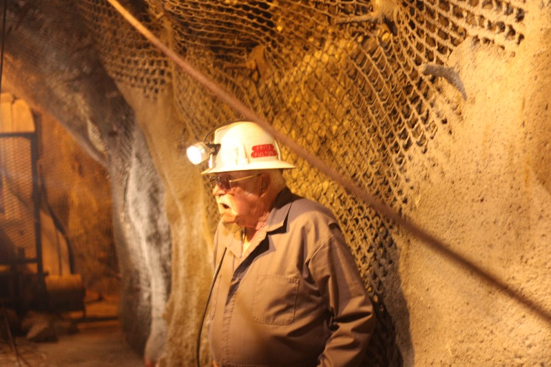Mine Guide @ Kimberley Mine