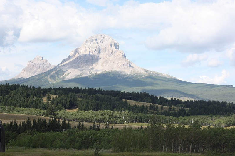 Random Mountain, Alberta