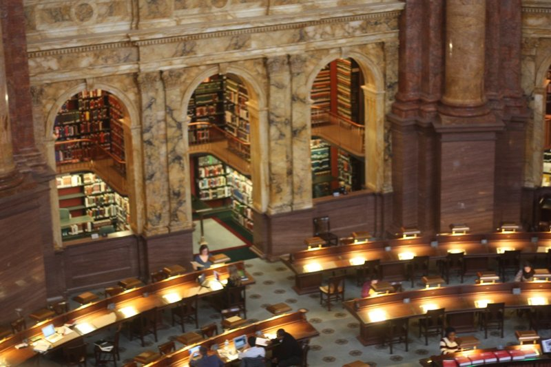 Reading Room, Library of Congress
