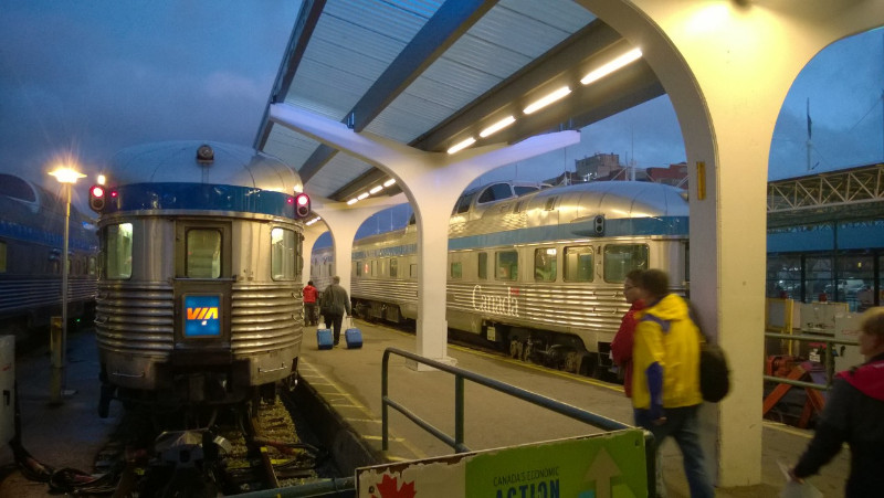 Via Rail Train