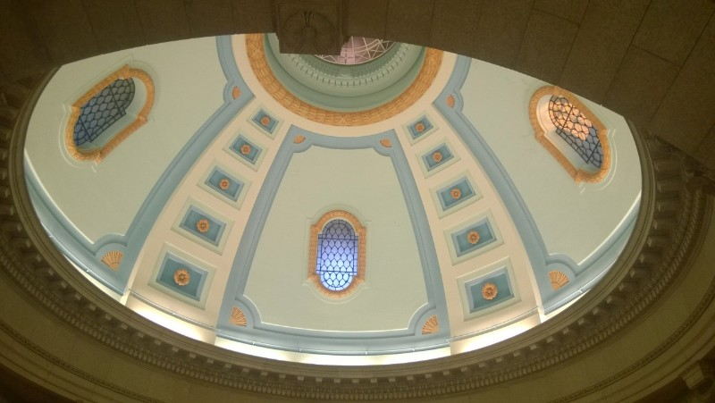 Interior of Dome, Manitoba Legislature