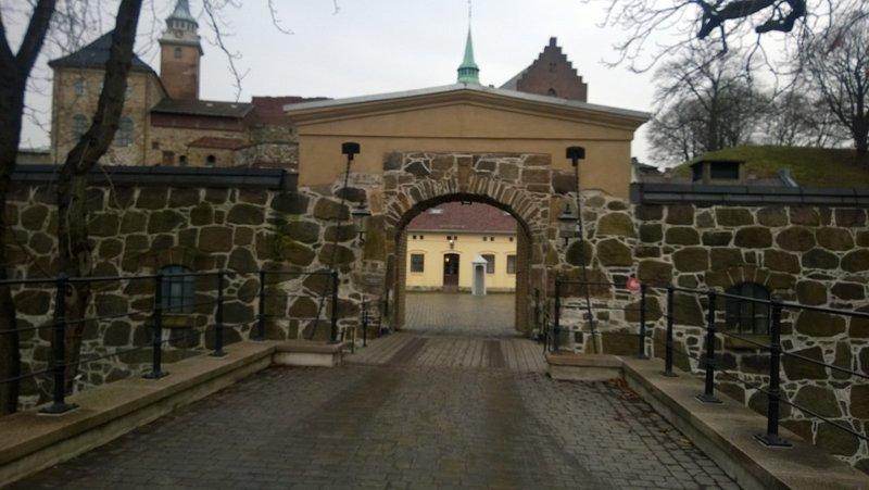 Akershus Castle Entry