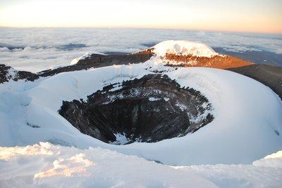 vulkankrater cotopaxi