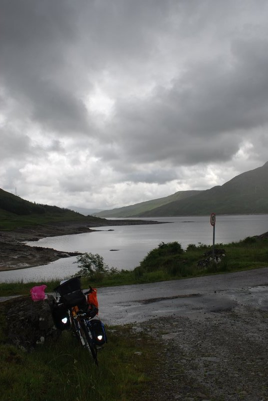 on the road to Kinloch Hourn