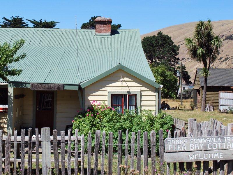 Flea Bay Hut, Banks Peninsula Walk