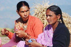 Knitting women 1