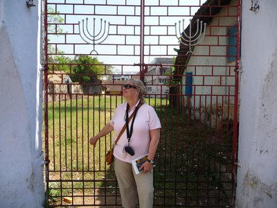 me at the synagogue gate