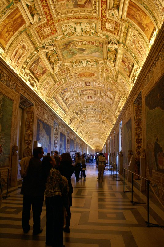 Gallery in the Vatican