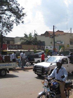 Kampala street scene