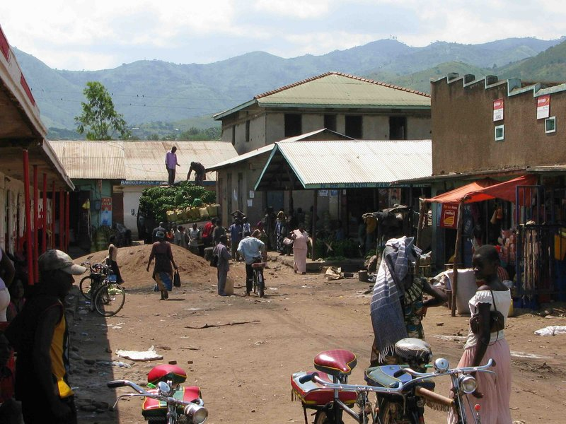 Kasese food market