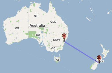 Going To New Zealand Mike All Over Travel Blog - Where is new zealand located