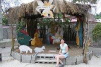 Kate in nativity scene