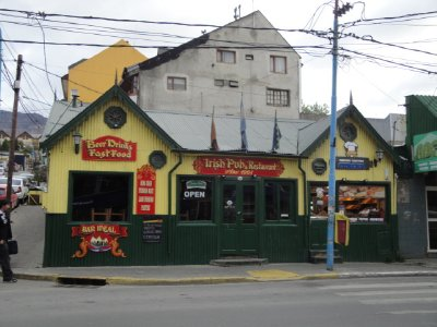 Irish pub at the end of the earth