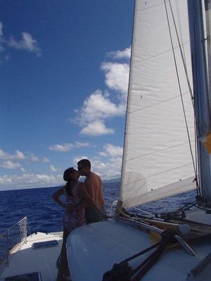 love in French Polynesia