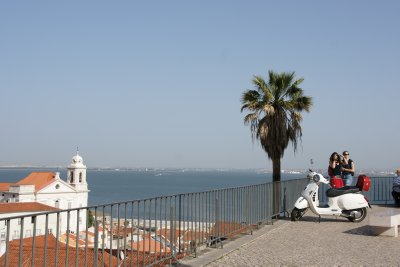View from Alfama district