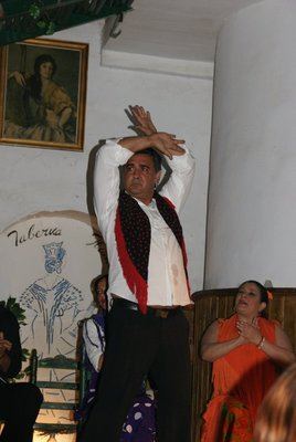 male flamenco dancer !!