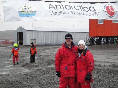 Antarctica marathon start