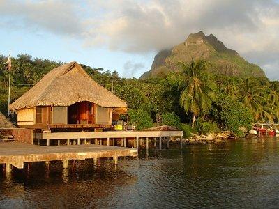 Bora Bora architecture