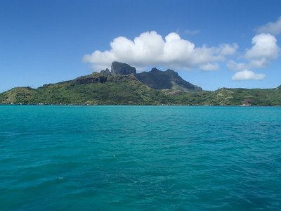 Bora Bora from the boat