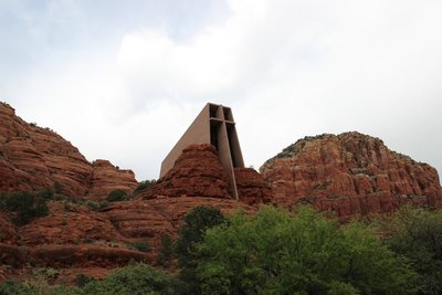 Chapel in the rocks