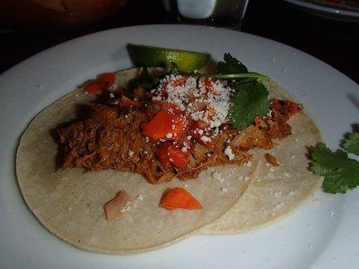 Cochinita de Pibil Tacos