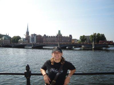 me in Stockholm