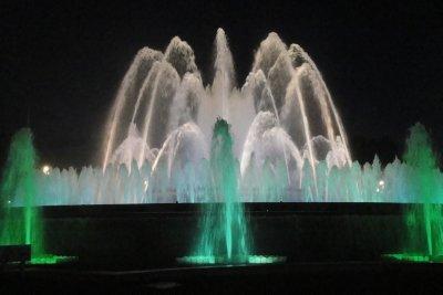Fountain light show #4