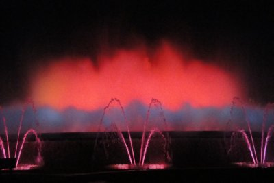 Fountain light show #3