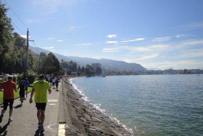 Lindau marathon route