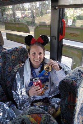 after the half marathon