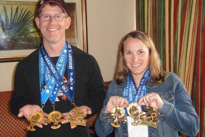Goofy medals