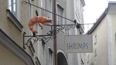 Shrimps - my favorite restaurant in Salzburg