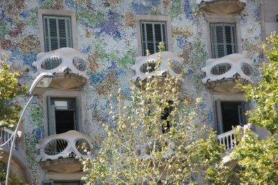 balonies of Casa Batllo