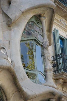 window of Casa Batllo