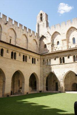 courtyard of palace