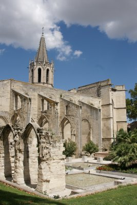 ruins in Avignon