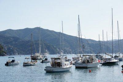 boats in St. Margherita Ligure